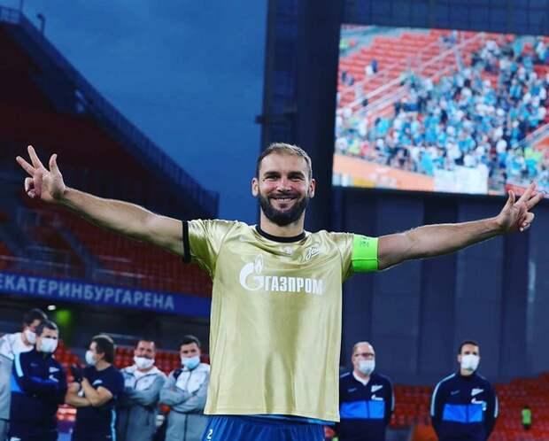 Экс-капитан «Зенита» дебютировал в составе «дроздов»