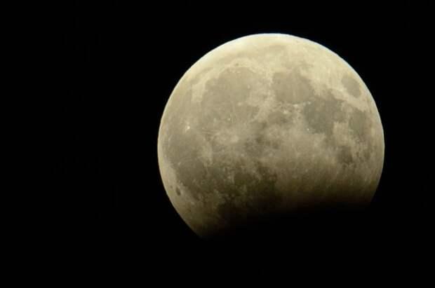 Жители Дальнего Востока смогут увидеть практически полное лунное затмение