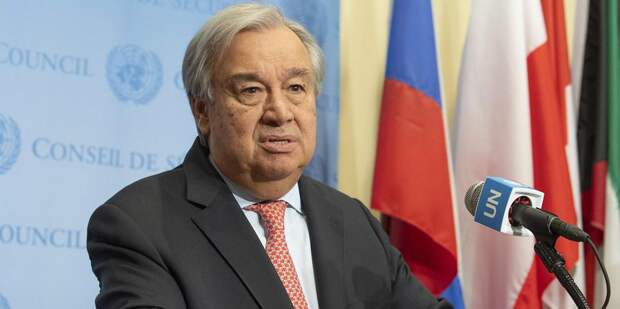 Генсек ООН прокомментировал возможную отправку миротворцев на Украину