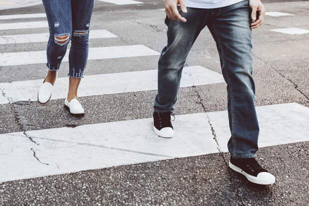 Пять советов пешеходам
