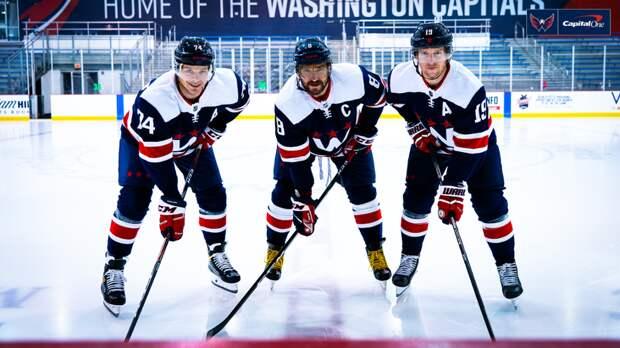 Овечкин представил альтернативную форму «Вашингтона» с буквой W, которая служит данью уважения столице США