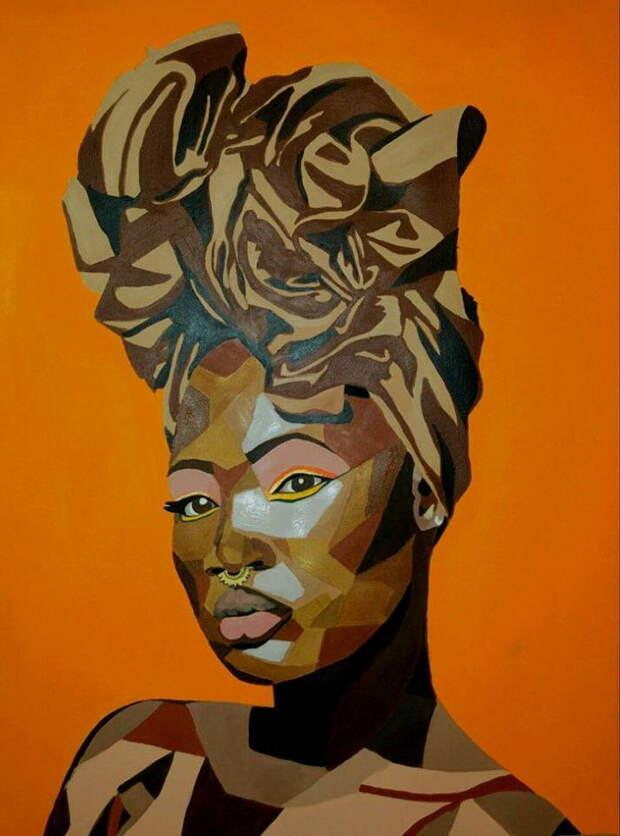 Образ черной женщины. Mikela Henry-Lowe