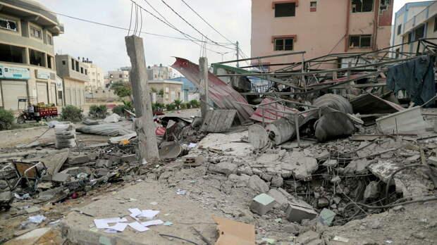 Израильские ракеты поразили здание Минтруда в секторе Газа