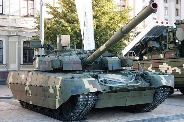 "Украинскому танку ""БМ Оплот"" вряд ли поможет программа ""Бастион"""