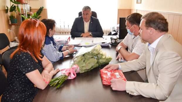 В Черноморском районе продолжается реализация программы «Мать и дитя»