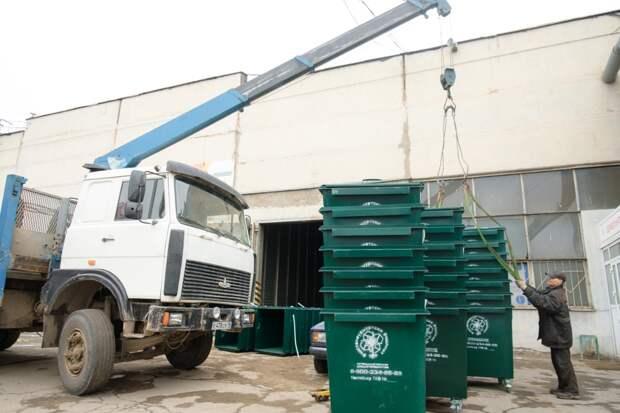 В городах и районах Удмуртии обустроят еще 530 контейнерных площадок