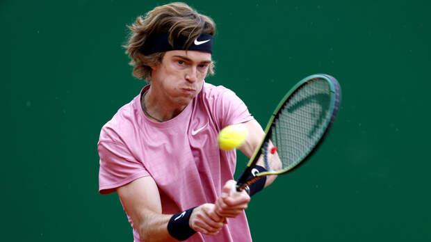 Матч Рублёва на турнире ATP в Риме перенесён