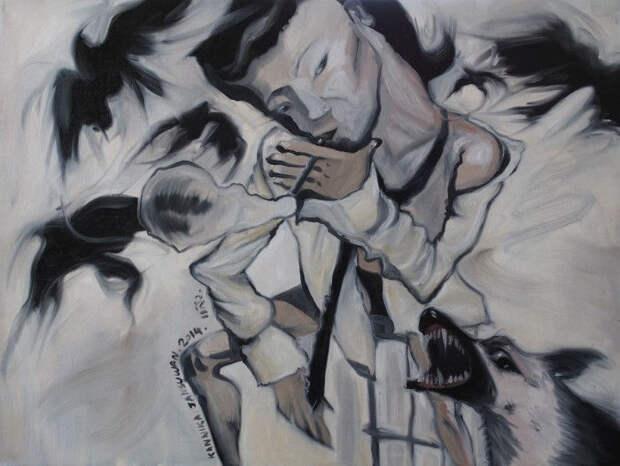 Поучительные истории. Таиландский художник. Kannika Jansuwan