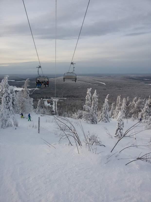 Катались на лыжах горка, дача, песочница, своими руками, сделай сам, семья