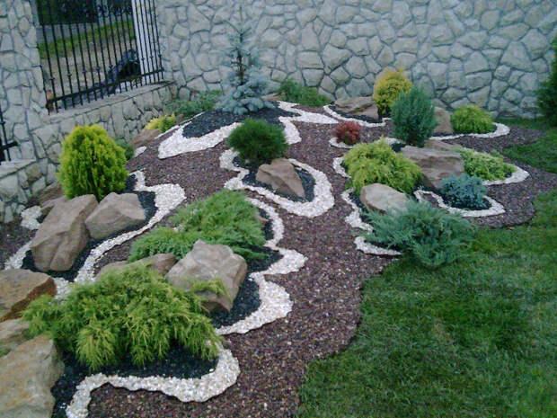 Рокарий — удивительный по красоте элемент сада