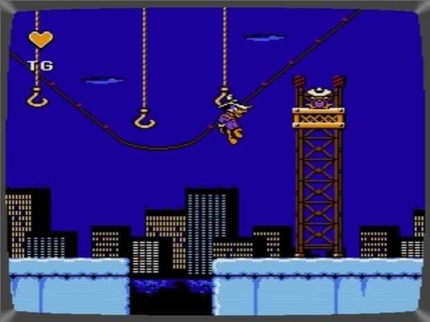 Darkwing Duck. 90-е годы, Денди 8 бит, любимые игры