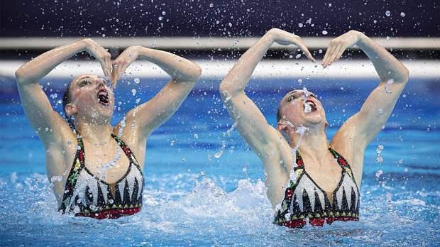 Синхронистки Ромашина и Колесниченко победили в произвольной программе, завоевав золото чемпионата Европы