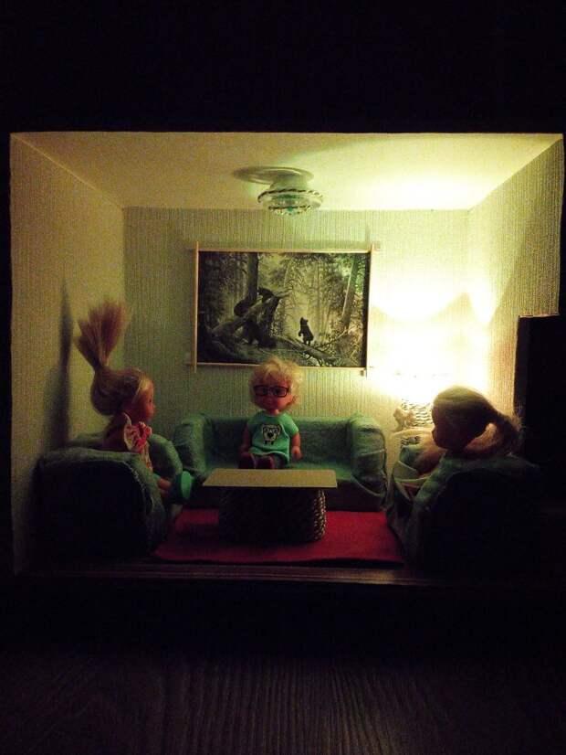 Домик для моей Дочки Домик для кукол, Подарок ребёнку, своими руками?, сделай сам