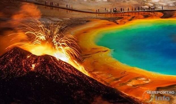 Вулкан Йеллоустоун передумал взрываться и готовится ко сну