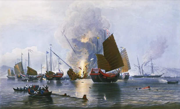 Первая опиумная война в Китае