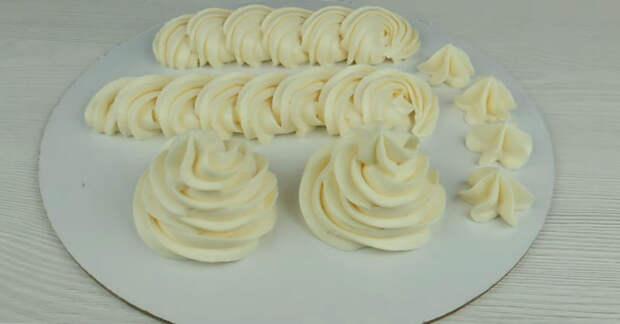 Очень вкусный заварной крем из йогурта и без сливок