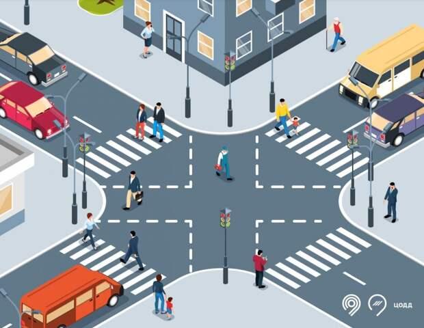 Пешеходный переход на пересечении Беломорской и Смольной будет выглядеть по-новому
