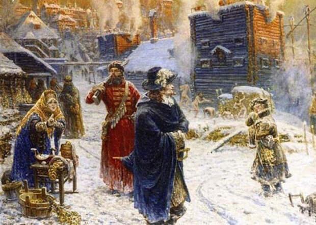 Почему Екатерина II запретила общие бани на Руси