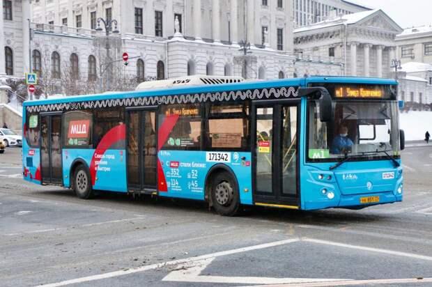 Автобусы с логотипом МЦД появятся на дорогах Бескудникова