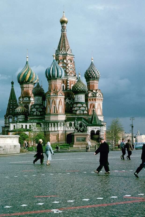 Собор Василия Блаженного дин конгер, фото, фотограф