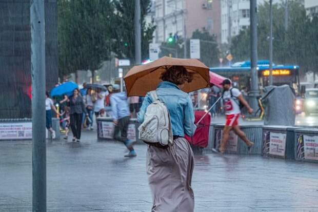Москву ожидает сильнейший за 73 года ливень