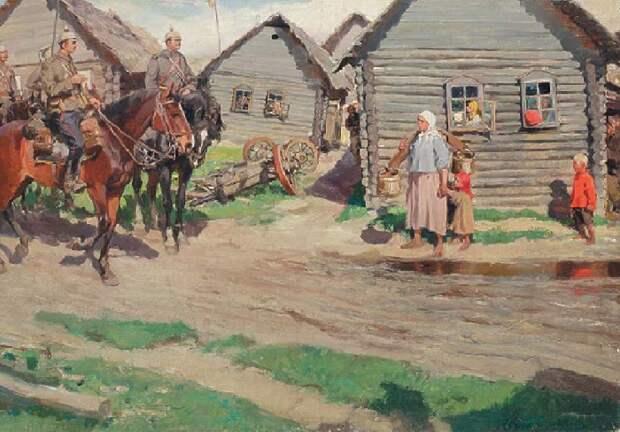 Оккупанты. Первая мировая война. (1914).