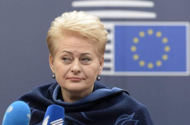 В Литве начали рассказывать правду о Грибаускайте
