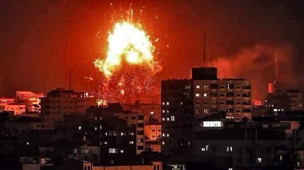 К авиаударам Израиля по сектору Газа подключилась артиллерия