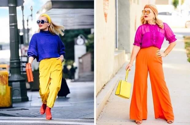 Едко и метко: сочетания цветов в одежде для тех, кто хочет захватить внимание всех людей в округе