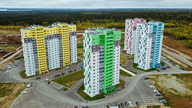 Названы регионы, лидирующие по вводу жилья