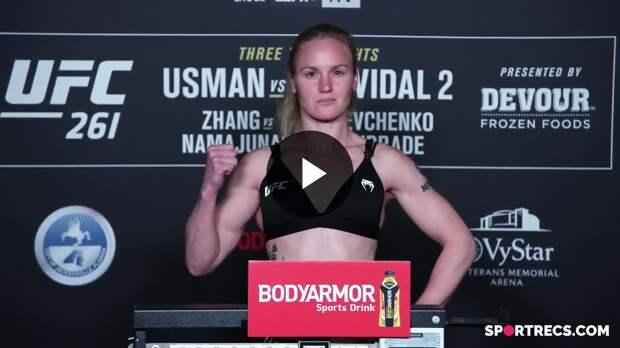UFC 261: Церемония взвешивания
