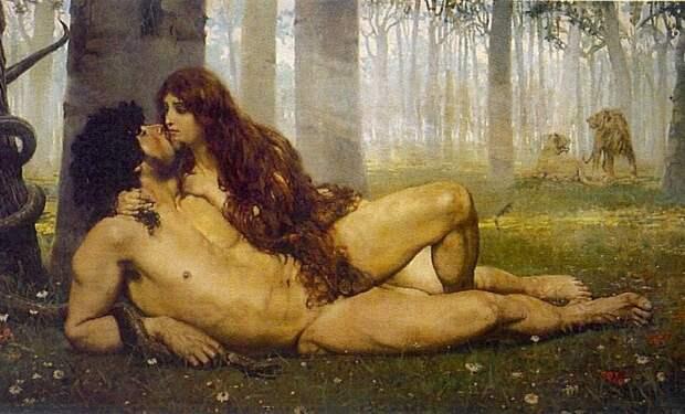 El_primer_beso_Salvador_Viniegra_y_Lasso_de_la_Vega_(1891)