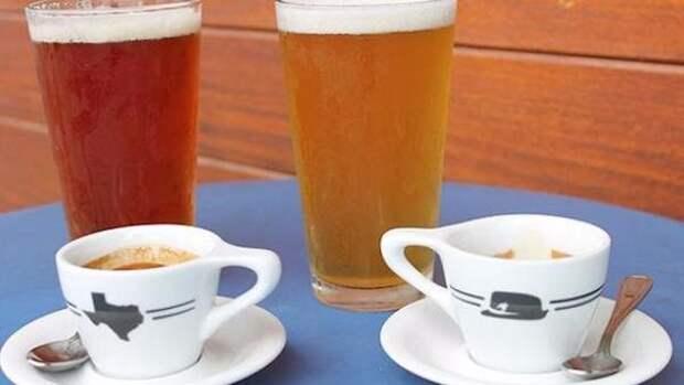Странные кофейные напитки