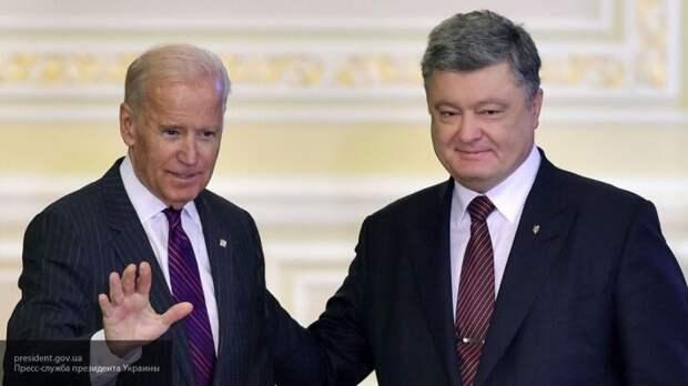 Деркач показал схему, как Байден и Порошенко выводили миллиарды из  Украины