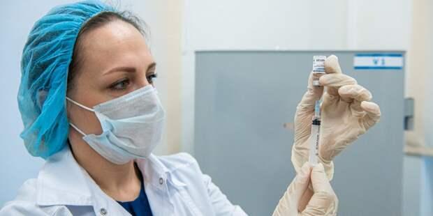 Массовая вакцинация от коронавируса в Лефортове набирает обороты