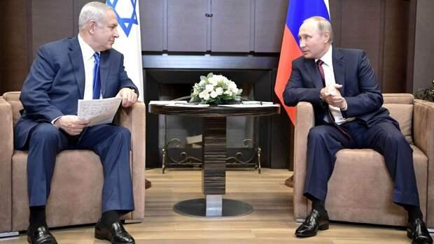 Путин и Нетаньяху обсудили по телефону вопросы двустороннего сотрудничества