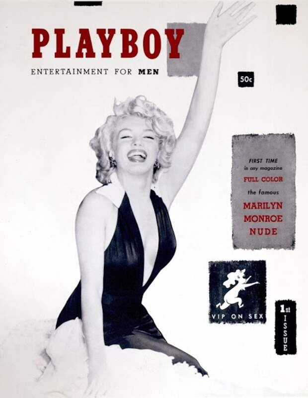 Легенды мирового кино на обложке журнала Playboy.