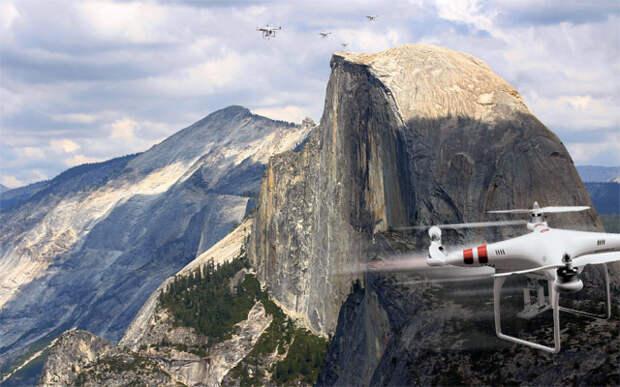 Дронам запретили летать в национальных парках США