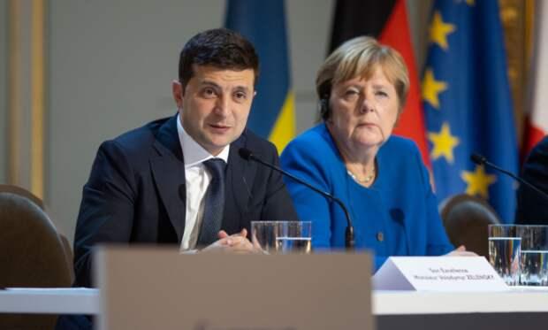 Меркель – Зеленскому: моя твоя не понимай