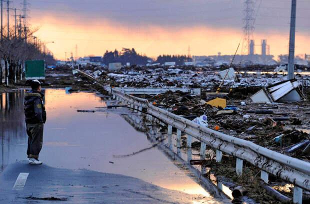 Утро следующего дня в Сендае