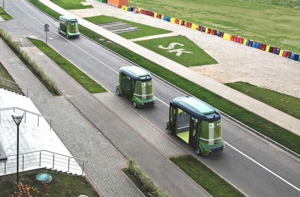 АВТОМАШ. Первый российский автобус-беспилотник