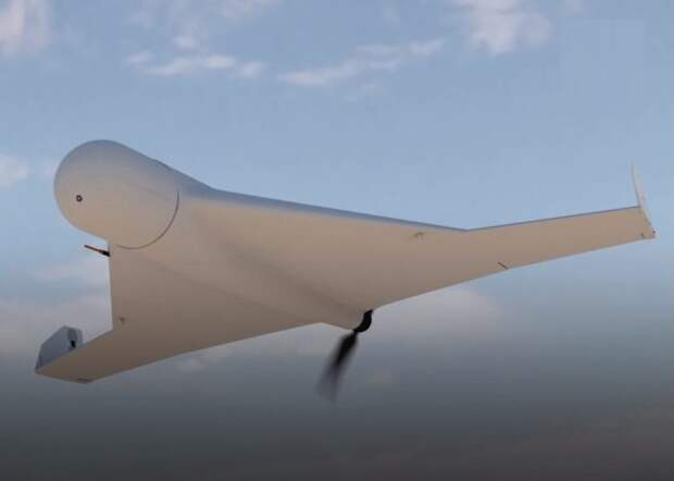 Беспилотный дрон в полете. | Фото: TechFusion.