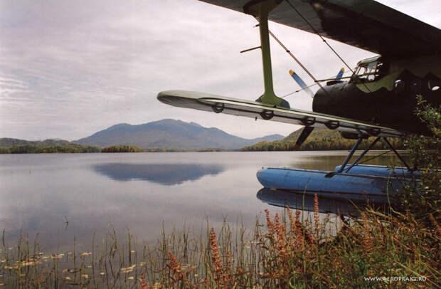 Ан-2В - на поплавках по Северным далям...