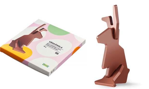 Шоколадный конструктор: пасхальный кролик своими руками