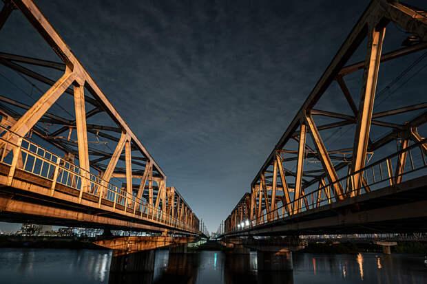 Night View of Bridges Bridges  by Hatsumori Satoshi on 500px.com