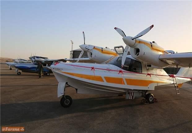 Иран получил самолёты-амфибии российского производства Аэро Волга ЛА-8