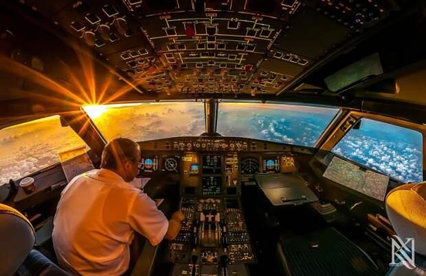 fromcockpit25 25 фотографий, сделанных пилотами из кабин самолетов