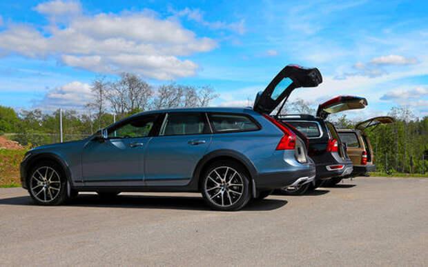 Шведская династия: Volvo V90 Cross Country на фоне предков