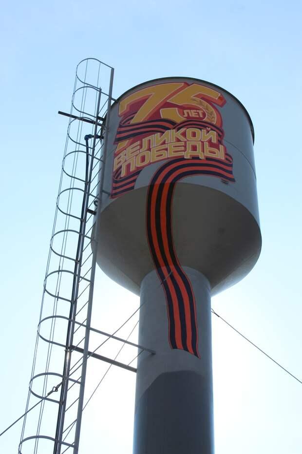 Посвященное Великой Победе граффити появится на трех водонапорных башнях в Удмуртии