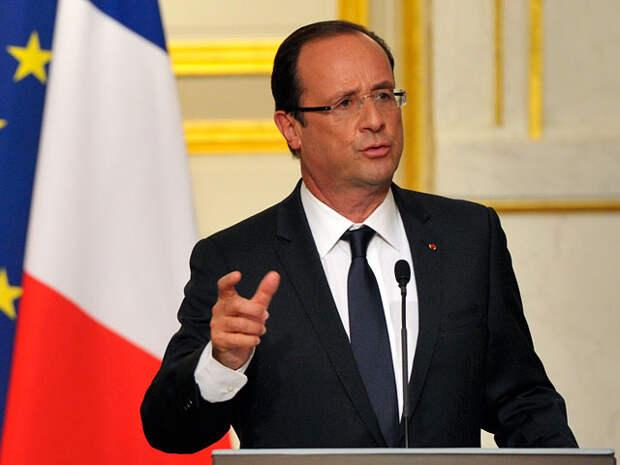 Еврокомиссия не поддержала Олланда по отмене санкций против РФ